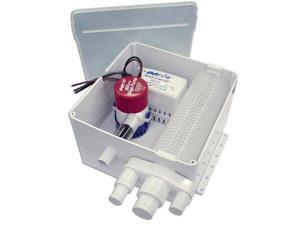Rule Multi Port Shower Drain System - 24v (98A-24)