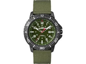 Timex Expedition Uplander Watch - Green Dial/Green Fabric Strap (T49944)
