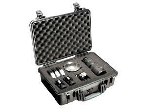 Pelican 1500 Case w/Foam - Black (1500-000-110)