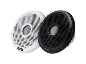 "FUSION 7"" Round 2-Way IPX65 Marine Speaker - 260W - (Pair) White w/Interchangeable Black & White Grills (MS-FR7021)"