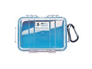 Pelican 1020 Micro Case w/Clear Lid - Blue (1020-026-100)