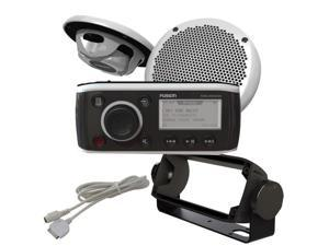 FUSION MS-RA50KTSBC  RA-50KTSCB Bundle - Includes MS-RA50 Receiver, MS-EL602 Speakers, MS-HUGMS Gimbal Mount  and  MS-IP15L3 iPod Cable