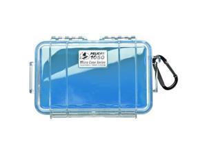 Pelican 1050 Micro Case w/Clear Case - Blue (1050-026-100)