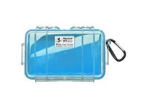 Pelican 1040 Micro Case w/Clear Lid - Blue (1040-026-100)