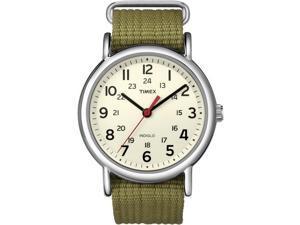 Timex Weekender Slip-Thru Watch - Olive Green (T2N651)