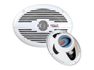 "Boss Audio MR690 6"" x 9"" Oval Speakers - (Pair) White (MR690)"
