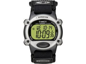Timex Expedition Mens Chrono Alarm Timer Silver/Black (T48061)