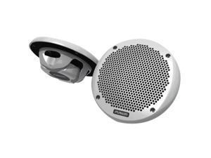 "FUSION MS-EL602  6"" Shallow Mount Speaker - (Pair) White"