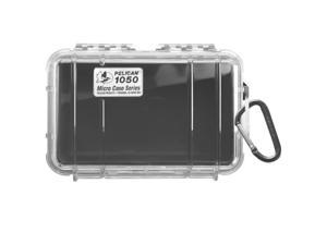 Pelican 1050 Micro Case w/Clear Lid - Black (1050-025-100)