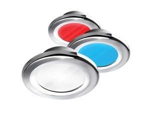 i2Systems Apeiron A3120 Screw Mount Light - Red, Cool White, Blue Light, Chrome Finish (A3120Z-11HAE)