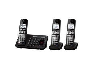 PANASONIC KX-TGE243B DECT 6.0- 3 handsets- Advanced TAD- DK / DECT 6.0, 3 handsets, Advanced TAD, DK
