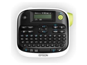 "EPSON C51CB69010 LabelWorks LW-300 Label Maker / 0.24 in/s Mono - Tape, Label - 0.24"", 0.35"", 0.47"" - Thermal Transfer - 180 dpi QWERTY"