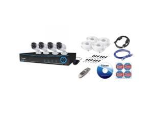 SWANN SWDVK-442004-US DVR4-4200 4 Channel 960H Digital Video Recorder  and  4 x PRO-642 Cameras 500 GB Hard Drive