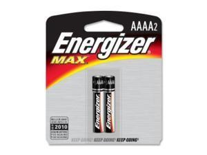 ENERGIZER E96BP-2 E96BP-2 AAAA Alkaline Cell Battery - 595 mAh - AAAA - Alkaline - 1.5 V DC