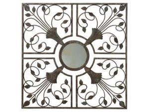 "GARDMAN 8405 Gardman Moorish Mirror Wall Art - Antique Rust - 22"" L x 22"" WMoorish Mirror - 22.0"" x 22.0"""