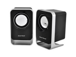 GEAR HEAD SP1500USB Gear Head SP1500USB 2.0 Speaker System - 3 W RMS - Black, Silver
