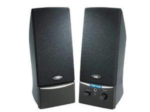 CYBER ACOUSTICS CA-2012RB 2.0 Black Stereo Speaker