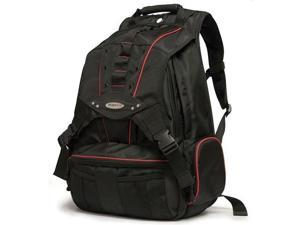"""MOBILE EDGE MEBPP7 Premium Carrying Case (Backpack) for 17.3"""" Notebook, MacBook - Red, Black"""