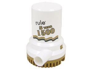"""RULE 04 Rule 1500 G.P.H. """"Gold Series"""" Bilge Pump"""