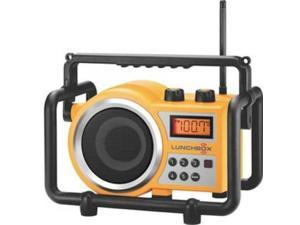 SANGEAN LB-100-YELLOW LunchBox Ultra Rugged Radio / Rain resistant to JIS4 standard&#59; Dust resistant&#59; Shock resistant