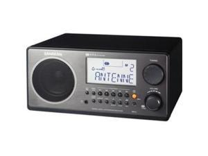 SANGEAN WR-2BK WR-2 Digital AM/FM Table Top Radio