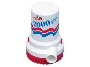 RULE 11 Rule 2000 GPH Non-Automatic Bilge Pump - 32v