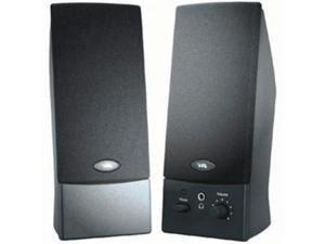 CYBER ACOUSTICS CA-2016WB Cyber Acoustics CA-2016WB 2.0 Speaker System - Black