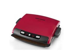 APPLICA GRP95R George Foreman 6 Serving Removable Plate Grill with red finish
