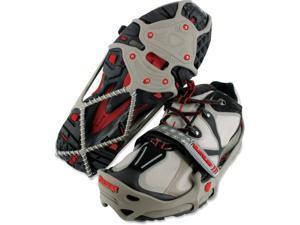 YAKTRAX 08162 Run Size Medium Gray/Red Fits W10.5-12.5 M9-11 Shoe