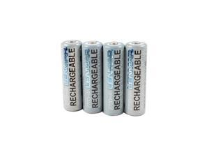 LENMAR PRO427 4 pack 1.2V, 2700mAh, NiMH AA batteries with carrying case