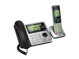VTECH CS6649 CORDED CORDLESS PHONE DECT6.0 TECH W/ ANSWERING MACHINE