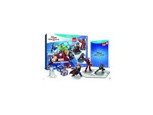 TAKE-TWO 02566 DISNEY INFINITY 2.0 Edition: Marvel Super Heroes Starter Pack - contains The Avengers Play Set, two Power Discs, and three figures: Thor, Black Widow, and Iron Man. WiiU