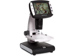 VEHO UK VMS005LCD Standalone USB Microscope with 1200 Magnification, LCD, Rechargeable