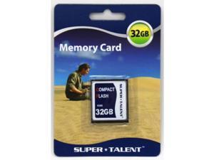 Super Talent 450X 32Gb High Speed Compact Flash Memory Card
