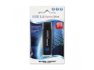 SUPER TALENT ST3U8S12K(SZ) Super Talent 8GB Express ST1-2 USB 3.0 Flash Drive (TLC)