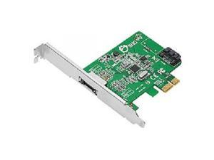 SIIG SC-SA0N11-S1 2 Port eSATA PCI-E Host Adapte