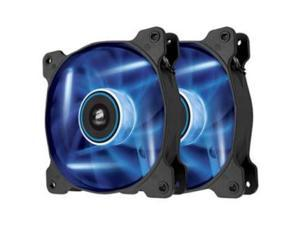 CORSAIR CO-9050016-BLED Air Series AF120 LED Blue Quiet Edition High Airflow 120mm Fan - Twin Pack