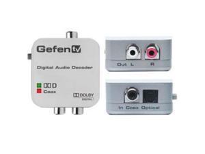 GEFEN GTV-DD-2-AA Digital to Analog Decoder