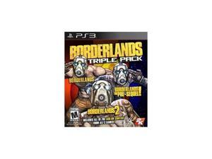 TAKE-TWO 47704 Borderlands Triple Pack PS3