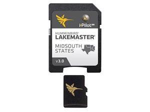 HUMMINBIRD 600009-5 Humminbird LakeMaster Chart - MidSouth States - MicroSD/SD