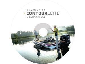 HUMMINBIRD 600018-3 Humminbird Contour Elite - DVD PC Software - Great Plains - Version 4
