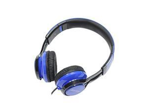 Gear Head HS3500BLU Features: Dynamic Bass Response&#59; Foldable Travel Design&#59; Built-In Microphone&#59; No