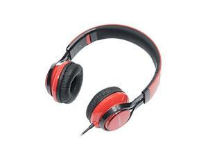 Gear Head HS3500RED Features: Dynamic Bass Response&#59; Foldable Travel Design&#59; Built-In Microphone&#59; No