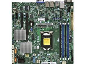 SUPERMICRO X11SSL-O Supermicro X11SSL-O LGA1151 Intel C232 DDR4 SATA3 and USB3.0 V and 2GbE MicroATX Motherboard