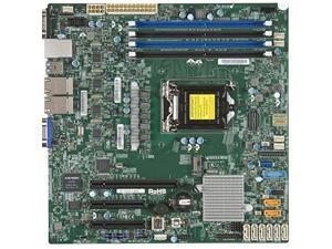 SUPERMICRO X11SSH-LN4F-O Supermicro X11SSH-LN4F-O LGA1151 Intel C236 DDR4 SATA3 and USB3.0 V and 4GbE MicroATX Motherboard