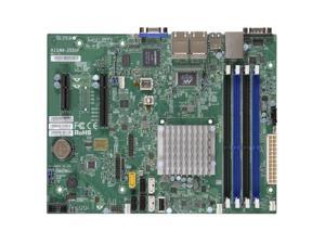 SUPERMICRO A1SAM-2550F-B Supermicro A1SAM-2550F-B Intel Atom C2550 DDR3 SATA3 V and 4GbE MicroATX Motherboard  and  CPU Combo