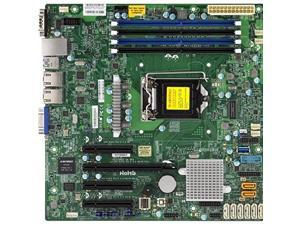 SUPERMICRO X11SSM-F-O Supermicro X11SSM-F-O LGA1151 Intel C236 DDR4 SATA3 and USB3.0 V and 2GbE MicroATX Motherboard