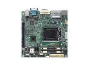 SUPERMICRO X10SLV-B Supermicro X10SLV-B LGA1150 Intel H81 DDR3 SATA3 and USB3.0 A and 2GbE Mini-ITX Motherboard