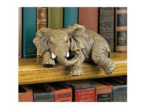 DESIGN TOSCANO EU33738 ERNIE THE ELEPHANT SHELF SITTER