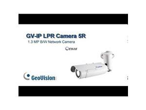 GEOVISION 84-HLPRCM5-0020 1.3MP IP LPR cam 5 meter, Motorized lens (3~9mm), w/o Adaptor